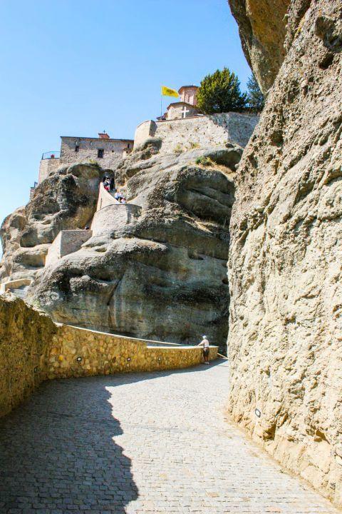 Varlaam Monastery: Varlaam Monastery is the second biggest monastery in Meteora.