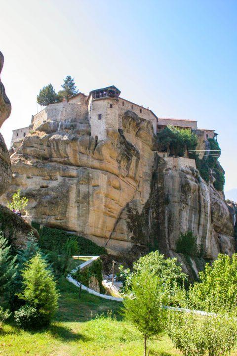 Varlaam Monastery: Distant view of Varlaam Monastery