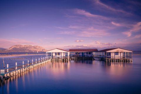Sea Lake: A quiet spot on the Sea Lake of Mesolongi