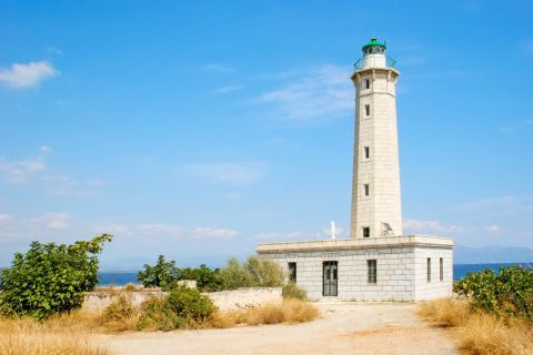 Lighthouse: The lighthouse of Gythio lies on the small islet of Kranae