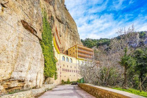 Mega Spileo Monastery: The Holy Monastery of Mega Spileo is the oldest Greek Orthodox monastery.