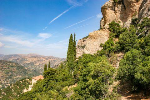 Mega Spileo Monastery: Splendid nature.