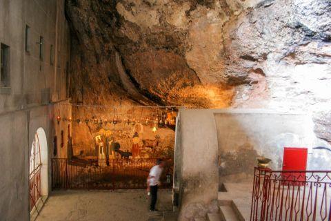 Mega Spileo Monastery: Inside this sacred place.