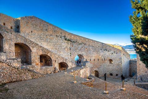 Palamidi Fortress: Palamidi is a typical baroque fortress.