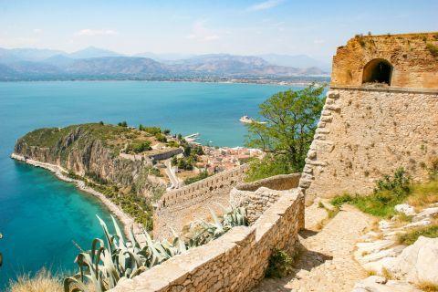 Palamidi Fortress: Palamidi commands a stunning sea view.
