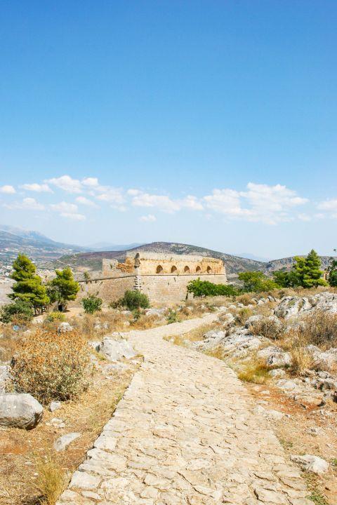Palamidi Fortress: Natural surroundings of Palamidi fortress.