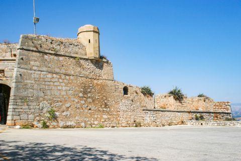 Palamidi Fortress: Palamidi was built in 1714.