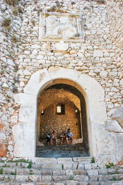 Palamidi Fortress: Palamidi is open to visitors.