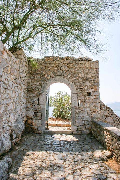 Palamidi Fortress: A gate inside Palamidi.