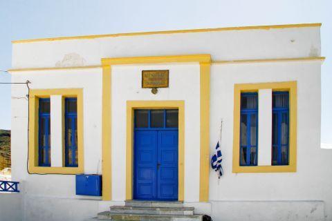 Thirassia Island: A school in Thirassia