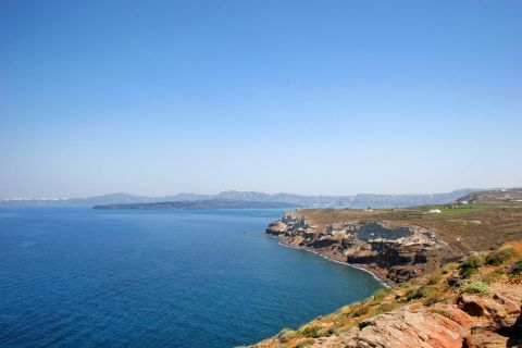 Lighthouse: Panoramic view from the Akrotiri Lighthouse