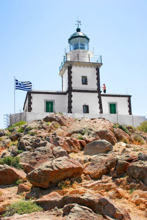 Lighthouse: The lighthouse of Akrotiri