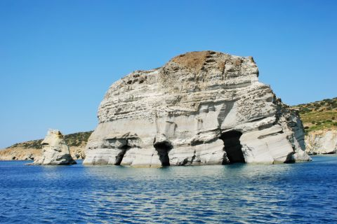 Sea Caves: The Caves of Milos