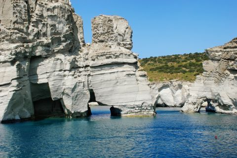 Sea Caves: At the Caves of Milos