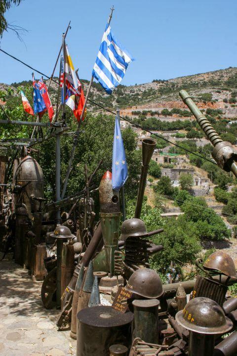 Askyfou War Museum: The War Museum of Askyfou hosts weapons  from the Second World War