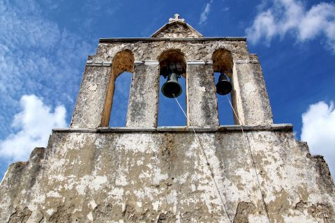 Panagia Drossiani church: The belfry of Panagia Drossiani