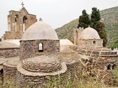 Panagia Drossiani church: Panagia Drossiani is surrounded by lush vegetation