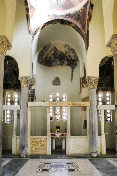 Holy Apostles church: The altar of the church