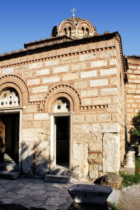 Holy Apostles church: The Church of the Holy Apostles in Ancient Agora