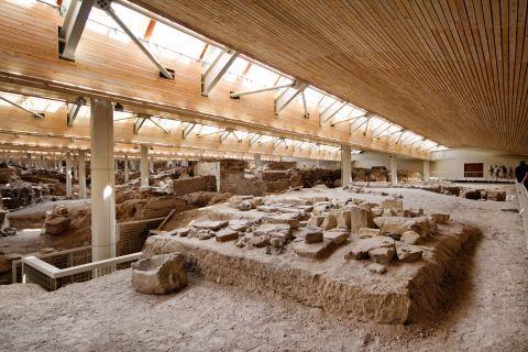 Akrotiri Minoan Site: Akrotiri Minoan Site