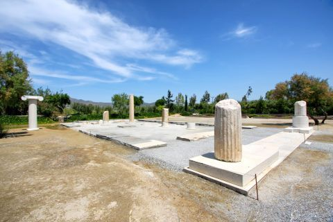 Dionysus Temple: The Temple of Dionysus was constructed on the Ionian architectural style.