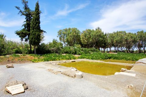 Dionysus Temple: The beautiful natural surroundings of the Temple of Dionysus