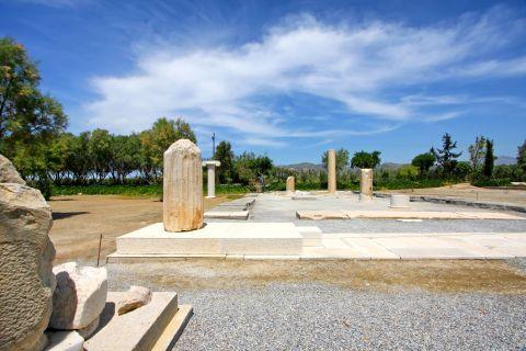 Dionysus Temple: Columns of the Temple of Dionysus