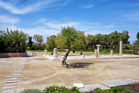 Dionysus Temple: The Temple of Dionysus is spotted in a well-preserved place
