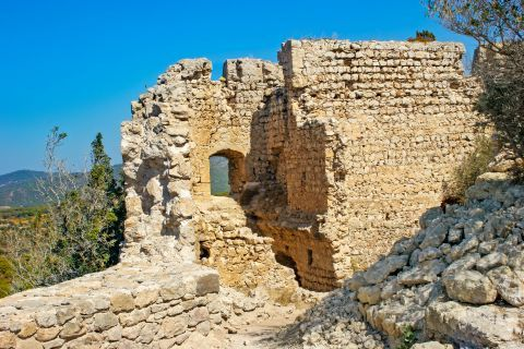 Castle of Kritinia: Ruins of the Castle of Kritinia