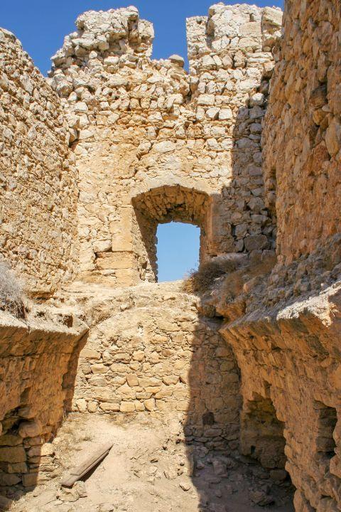 Castle of Kritinia: Stone built construction.
