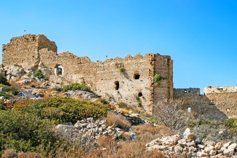 Castle of Kritinia: The Castle has elements of Byzantine and Venetian architecture.