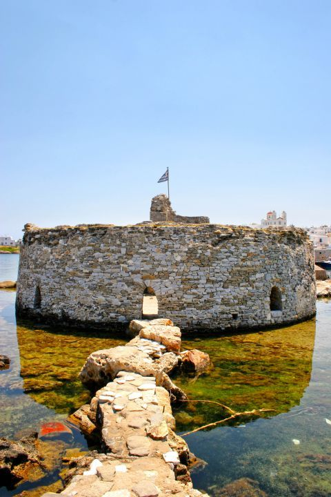 Venetian Castle: The Venetian castle of Paros