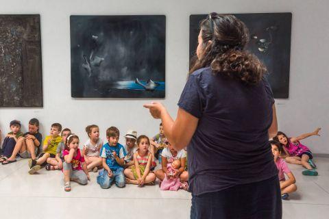 Kostas Tsoklis Museum: Activities, addressed to children are organized in this museum.
