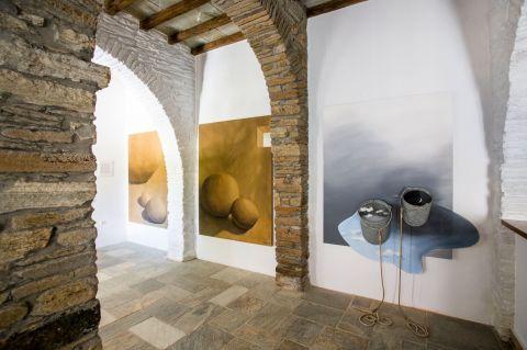 Kostas Tsoklis Museum: Pieces of modern art.
