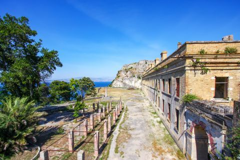 Old Fortress: At the Old Fortress of Corfu.
