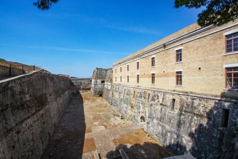 Old Fortress: The Old Fortress of Corfu