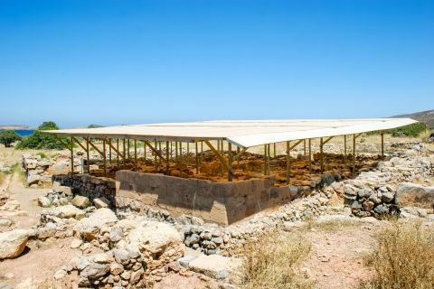 Palekastro: Minoan ruins at Roussolakkos