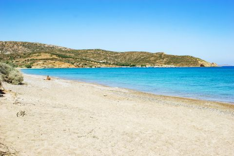 Palekastro: A sandy beach