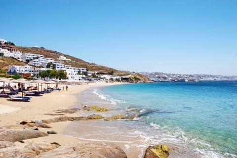 Agios Stefanos: Agios Stefanos beach