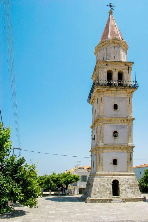 Maherado: The main attraction of Maherado is the 14th century Church of Agia Mavra with its impressive Venetian belfry.