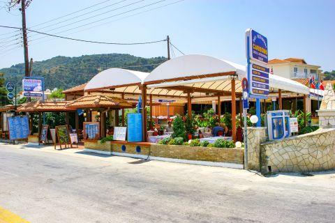 Argassi Village: Local eateries.