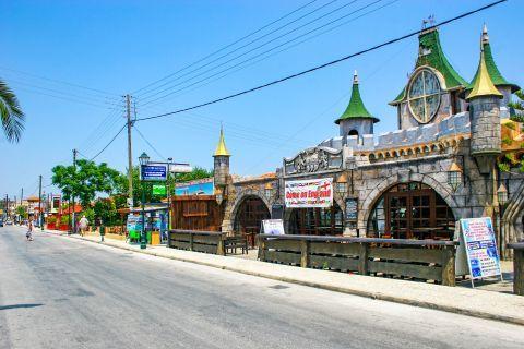 Argassi Village: A unique bar club that looks like a castle.