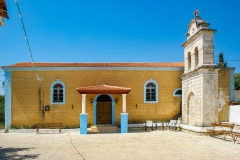 Kambi: A local church.