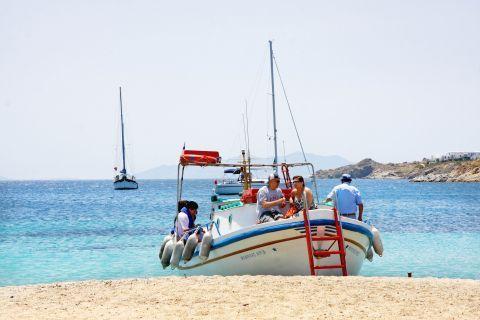 Ornos: A fishing boat