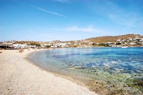 Mykonos Ornos Beach Beaches