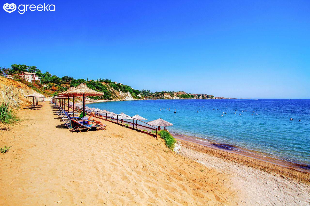 Porto Roma Beach in Zakynthos | Zakynthos Beaches - Greeka com