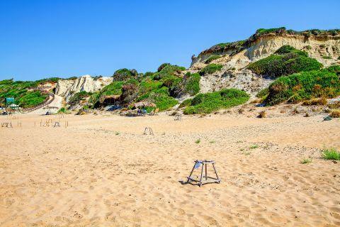 Gerakas: Soft sand.