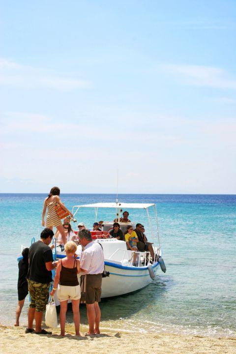 Paradise: A fishing boat