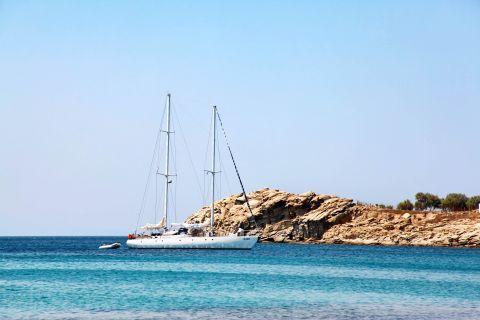 Paradise: A sailing boat