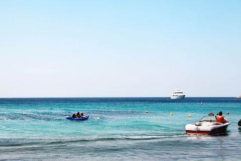 Paradise: Deep blue waters